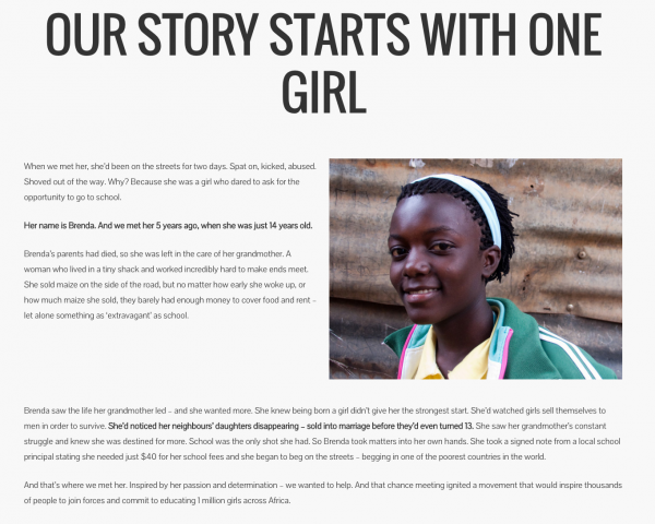 The Story of the One Girl Campaign from Stillmotion